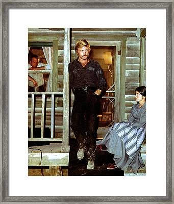 Butch Cassidy And The Sundance Kid  Framed Print by Silver Screen