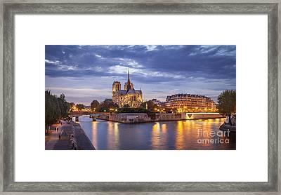 Cathedral Notre Dame Framed Print
