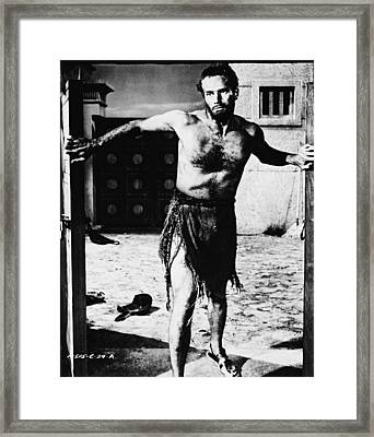 Charlton Heston Framed Print