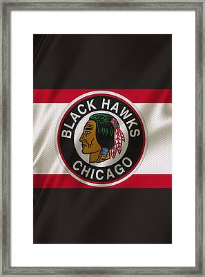 Chicago Blackhawks Uniform Framed Print