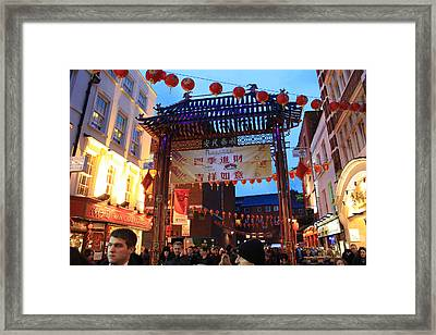 Chinatown Feb 2013 Framed Print by Ash Sharesomephotos