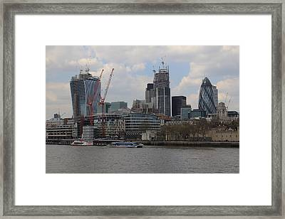 City Views Framed Print by Ash Sharesomephotos