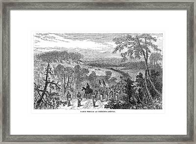 Civil War Vicksburg, 1863 Framed Print