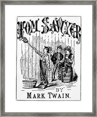 Clemens Tom Sawyer Framed Print by Granger