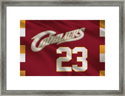 Cleveland Cavaliers Uniform Framed Print by Joe Hamilton