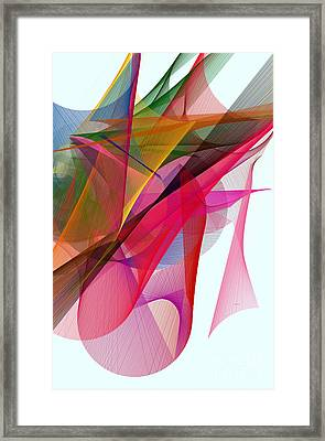 Color Symphony Framed Print