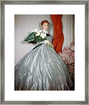 Deborah Kerr Framed Print