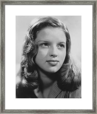 Diana Dors Framed Print