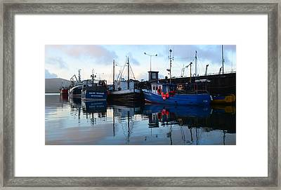 Dingle Harbor Framed Print