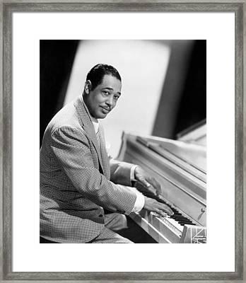 Duke Ellington (1899-1974) Framed Print by Granger
