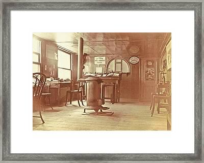 Family Album Including Pictures Of Wijnhandel Kraaij & Co Framed Print by Artokoloro