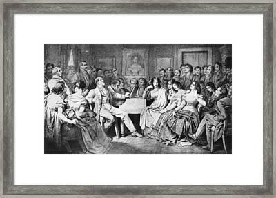 Franz Schubert (1797-1828) Framed Print by Granger