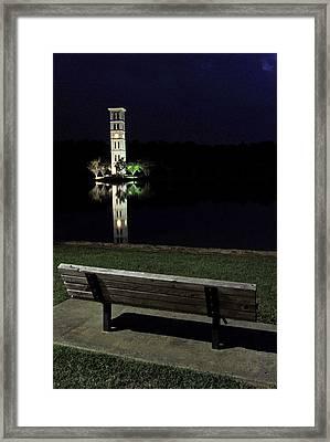 Furman University Bell Tower  Greenville Sc Framed Print