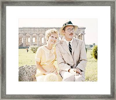 Goodbye, Mr. Chips  Framed Print by Silver Screen