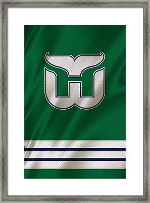 Hartford Whalers Framed Print by Joe Hamilton