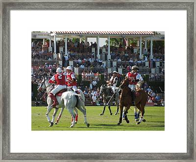 International Polo Club Framed Print