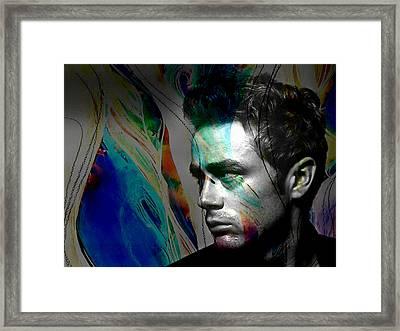 James Dean Framed Print by Marvin Blaine