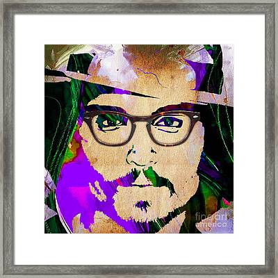 Johnny Depp Collection Framed Print