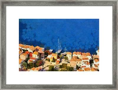 Kastellorizo Island Framed Print