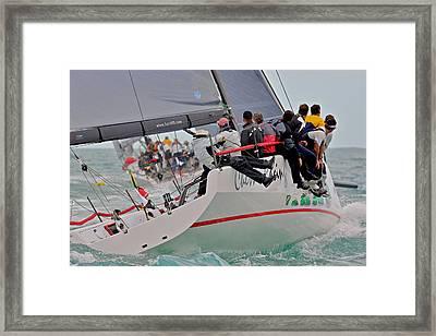 Key West Regatta Framed Print