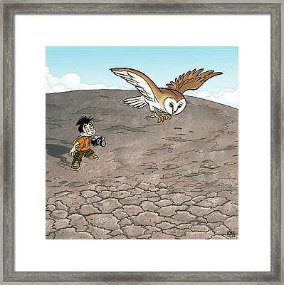 Kikeo The Photographer And Explorer Framed Print by Kike Calvo