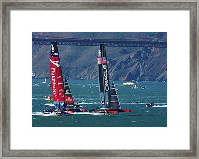 Last Race Framed Print
