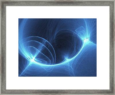 Light Pattern Framed Print by Alfred Pasieka