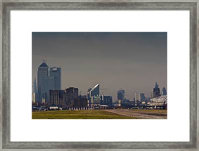 London City Airport Framed Print