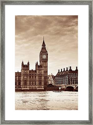 London Framed Print