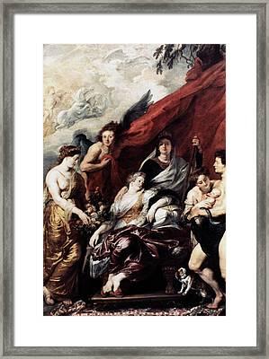 Louis Xiii (1601-1643) Framed Print