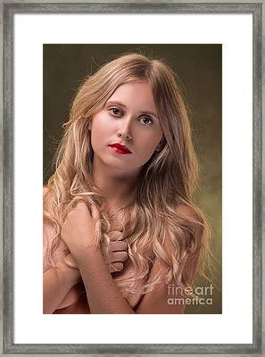 Luxury Young Woman  Framed Print by Aleksey Tugolukov