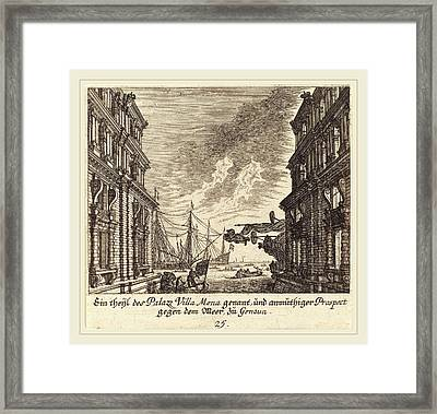 Melchior Küsel After Johann Wilhelm Baur German Framed Print by Litz Collection