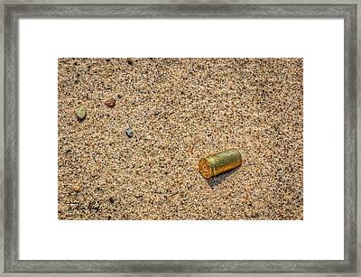 9 Mm Framed Print by William Reek