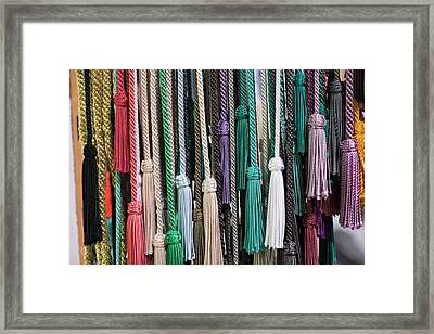 Morocco, Marrakech Framed Print