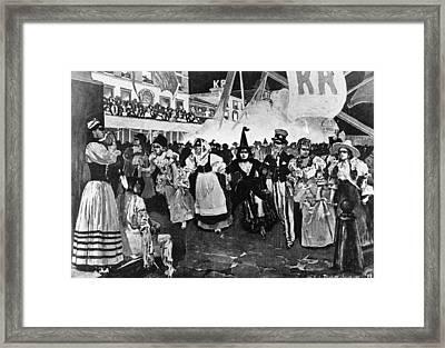 New Orleans Mardi Gras Framed Print by Granger