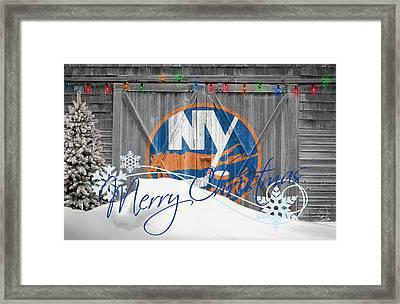 New York Islanders Framed Print