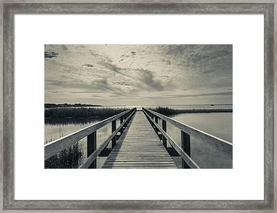 North Carolina, Outer Banks National Framed Print by Walter Bibikow