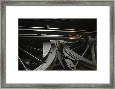 Old Train Framed Print by Gary Marx