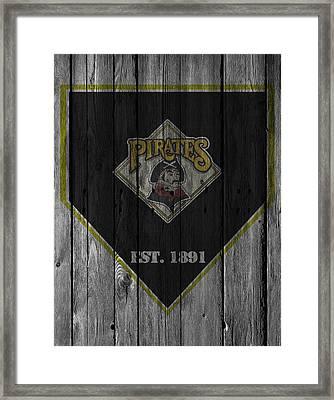 Pittsburgh Pirates Framed Print by Joe Hamilton