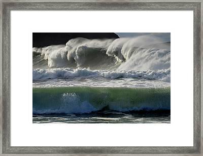 Power Framed Print by Barbara Walsh