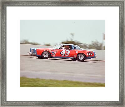 Richard Petty Framed Print by Retro Images Archive