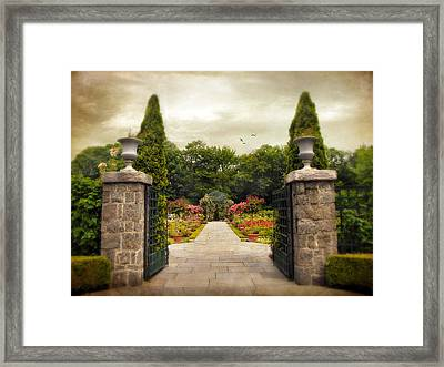Rose Garden Framed Print by Jessica Jenney