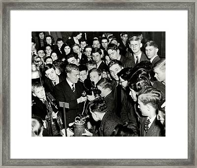 Royal Institution Christmas Lecture Framed Print by Royal Institution Of Great Britain