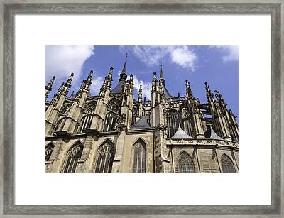 Saint Barbara's Church. Framed Print