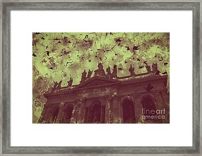 San Giovanni In Laterano Church Rome Italy Framed Print by Marina McLain