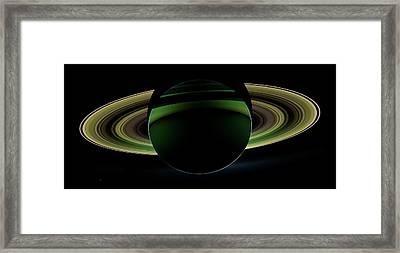 Saturn Framed Print by Nasa