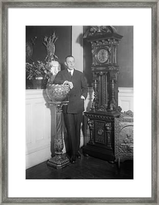 Sergei Rachmaninoff (1873-1943) Framed Print by Granger