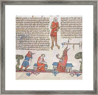 Smithfield Decretals Framed Print by British Library