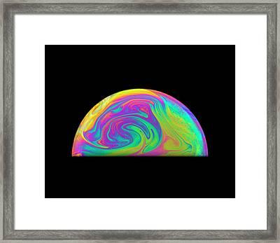 Soap Bubble Framed Print