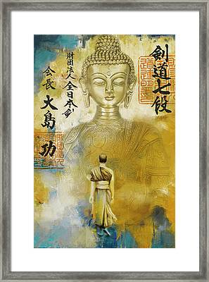South Asian Art Framed Print by Corporate Art Task Force